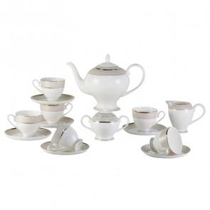 Чайный сервиз Bianko 17 Pcstea Set