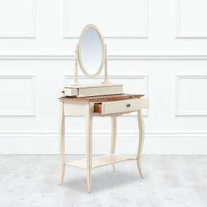 Туалетный столик Belveder с  овальным зеркалом