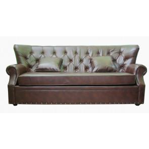Кожаный диван Tesco