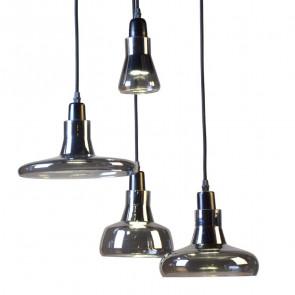 Подвесной светильник Boretto smoke glass