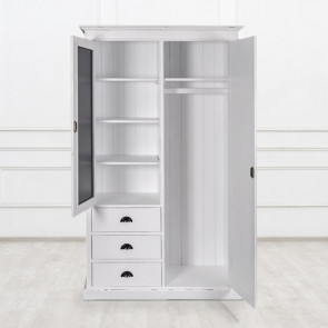Платяной шкаф с зеркалом Laurelle
