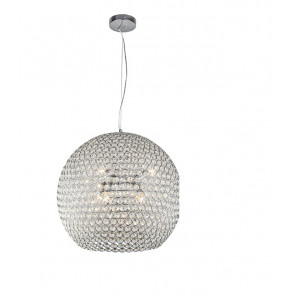 Подвесной светильник Liera изысканна и легка. Плафон изделия украшен хрустальными камнями и имеет объемную круглую форму. Радужные переливы света великолепными бликами распространяются от зажжённого светильника, что несомненно придаст уюта и тепла Вашему интерьеру.</p> Liera 400