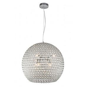 Подвесной светильник Liera изысканна и легка. Плафон изделия украшен хрустальными камнями и имеет объемную круглую форму. Радужные переливы света великолепными бликами распространяются от зажжённого светильника, что несомненно придаст уюта и тепла Вашему интерьеру.</p> Liera 500