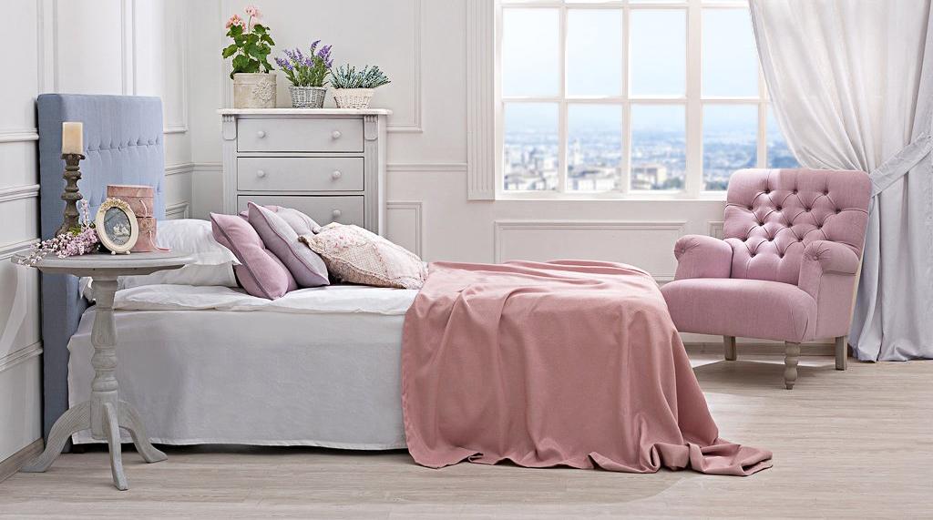 Нежная спальня в стиле прованс