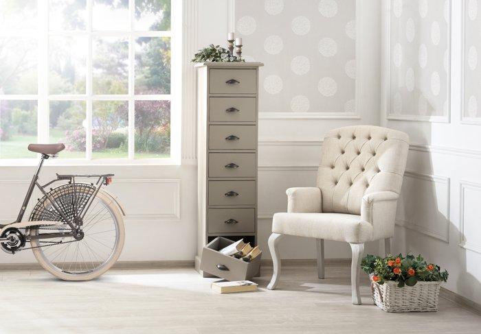 Классические мягкие стулья Прованс